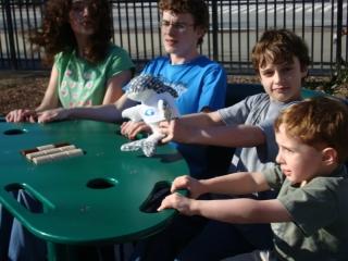 Kids on Seesaw