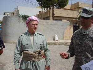 Peshmerga Closeup