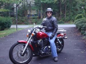 Dale with Bike